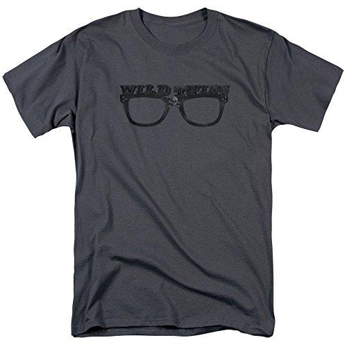 Trevco Men's Major League Short Sleeve T-Shirt, Charcoal, X-Large