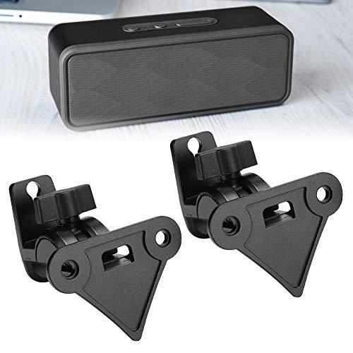 2PCS intelligente audio hangende rekbeugel 15KG draagvermogen Smart WIFI-luidspreker Audiohanger met kabelgat voor SONOS PLAY: 1