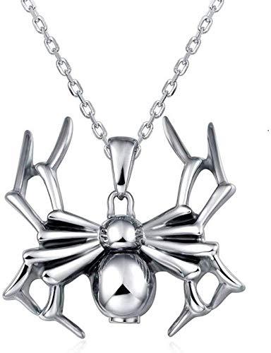 necklace Ladies fashion UNY Cremation Keepsake Urns Ashes pets Ash Urn Keepsake pendants Ashes Urns personalized Spider black widow urn Ash cremation Hoisting