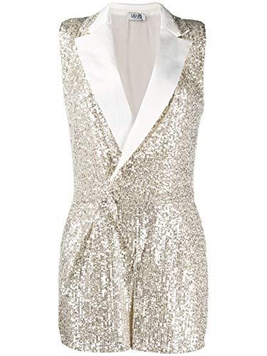 Liu Jo Luxury Fashion Damen WA0012J5813U9582 Gold Polyester Overall   Frühling Sommer 20