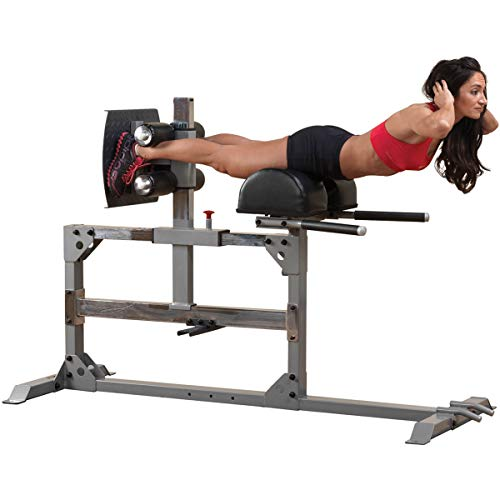 Body-Solid Glute and Hamstring Machine for Weight Training, Home and Commercial Gym