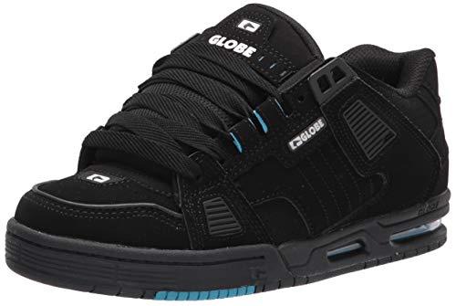 Globe Sabre, Zapatilla de Skate para Hombre, Negro/Azul, 47 EU