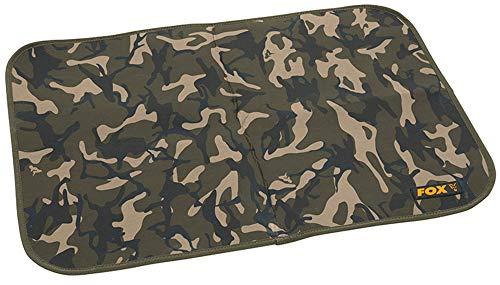Fox Camo Bivvy Mat 70x50cm - Fußmatte für Karpfenzelt, Fußabtreter für Angelzelt, Abtreter für Zelt zum Karpfenangeln