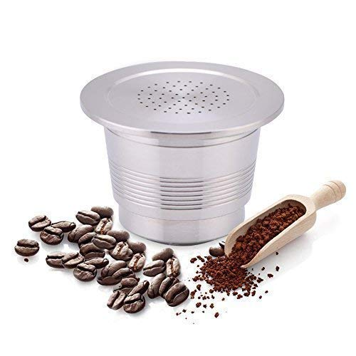 Cápsula de café de acero inoxidable para Nespresso Cafeter