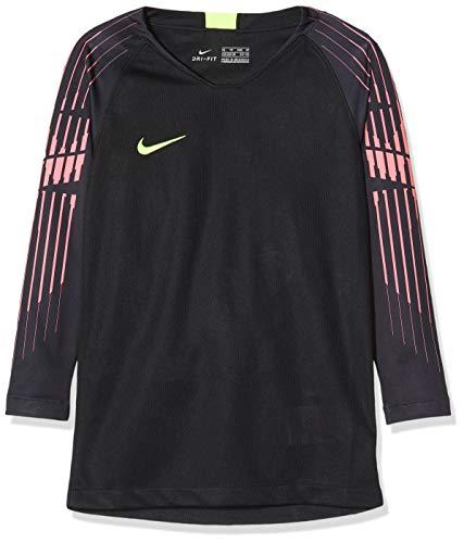Nike Kinder Gardien GK Trikot, Black/Volt, XL