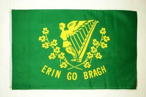 AZ FLAG Ireland Erin Go Bragh Flag 3' x 5' - Irish Erin go Braugh Flags 90 x 150 cm - Banner 3x5 ft