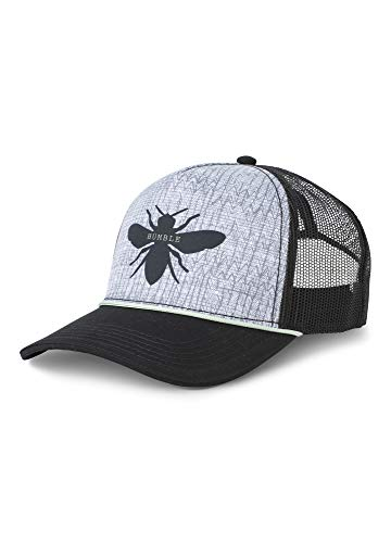 prAna - Women's Journeyman Trucker Hat, Black Bee, One Size