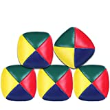 OMG Pelotas de Malabares, 5 Pcs Mini Bolas de malabarismo, Malabares Bolas de Pelotas Bolas de Juego de malabarismo para niños y Principiantes