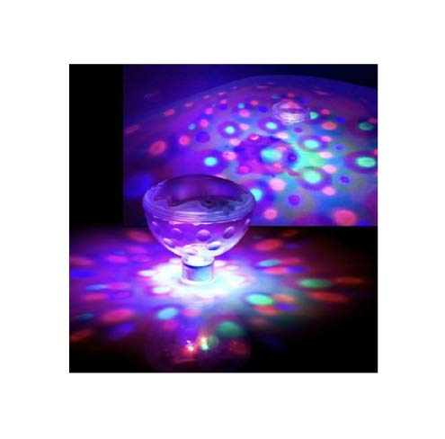 SET OF 2 Floating/Underwater LED Bath,Spa,pool Disco Light