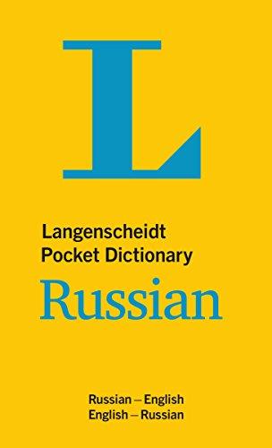 Langenscheidt Pocket Dictionary Russian (Langenscheidt Pocket Dictionaries)
