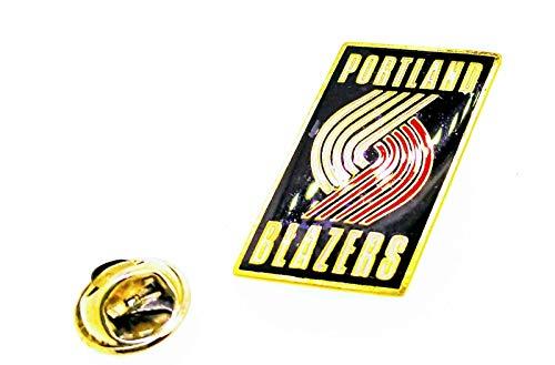 Gemelolandia | Pin de solapa NBA Portland Trail Blazzers 27x17mm | Pines Originales Para Regalar | Para las Camisas, la Ropa o para tu Mochila | Detalles Divertidos