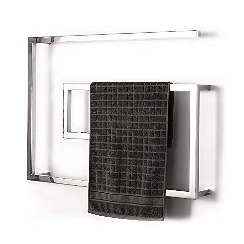 Muebles para el hogar Calentador de toallas Toallero eléctrico de acero inoxidable Termostático inteligente Almacenamiento de baño de hotel Varilla calefactora Se puede utilizar en el baño de la co