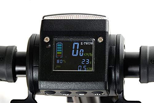 E-Twow Booster V Monopattino Elettrico per Adulti, Unisex, Nero, Taglia Unica