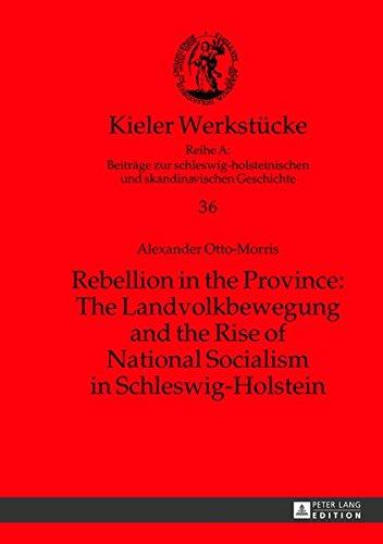 Rebellion in the Province: The Landvolkbewegung and the Rise of National Socialism in Schleswig-Holstein (Kieler Werkstücke: Reihe A: Beiträge zur ... und skandinavischen Geschichte, Band 36)