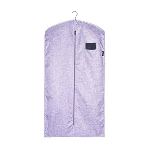 Xin Hai Yuan - Borsa per indumenti in tessuto Oxford, a prova di tarme, traspirante, per armadi, finestre, armadi, indumenti, viola, M