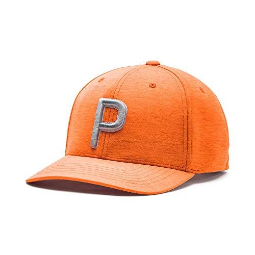 PUMA Golf 2020 Kid's P Hat (Kid's, Vibrant Orange,One Size)