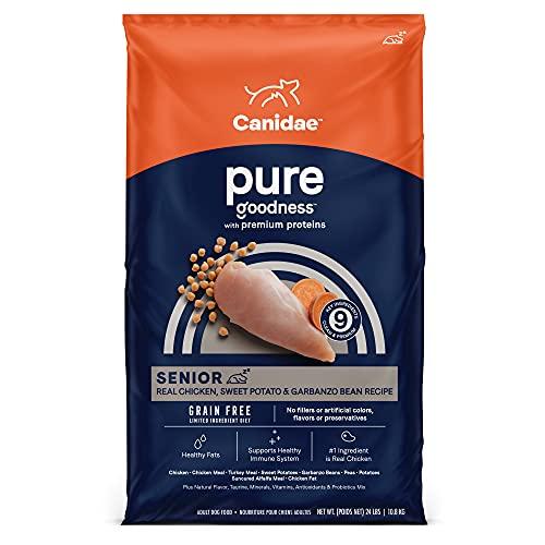 CANIDAE Pure Senior Recipe, Limited...