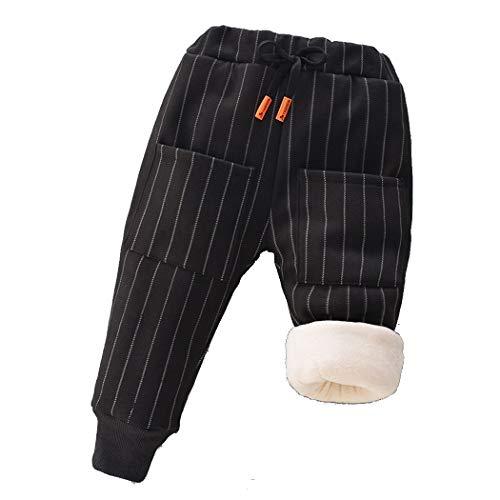 Genmoral Baby Boy Cotton Pants - black - 12-24 Months