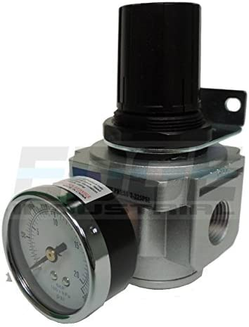 Sale special price Pack of 2 HEAVY Super special price DUTY IN-LINE COMPRESSED F REGULATOR PRESSURE AIR