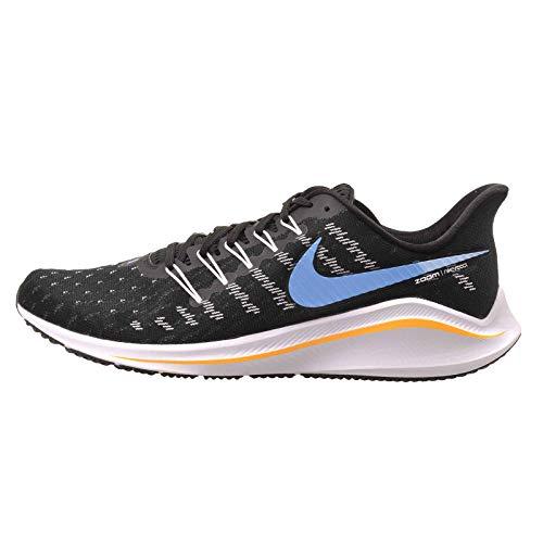 Nike Air Zoom Vomero 14, Scarpe da Corsa Uomo, Black/University Blue-White-Psychic Blue, 48.5 EU