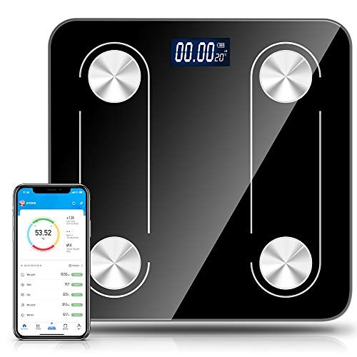 Save %35 Now! Body Fat Scale Bathroom Weight Scale Smart Digital Wireless Bluetooth Scale BMI Monito...