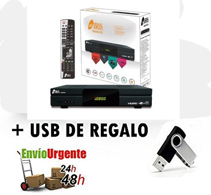 IRIS 9800HD + USB DE REGALO