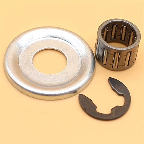 Fjiujin Lavadora de Embrague Clip Clip Rodamiento Ajuste para Stihl MS170 MS180 MS210 MS230 MS250 017 018 021 023 025 Repuestos de Motosierra