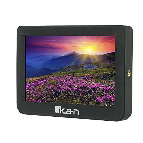 Ikan 7-inch Saga 4K Support HDMI/3G-SDI Monitor, 1920x1200 Full LCD Panel (S7C) - Black
