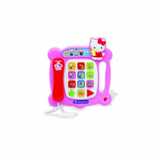Hello Kitty Clementoni-62215-Juego Educativo electrónico Teléfono [Importado de Francia]
