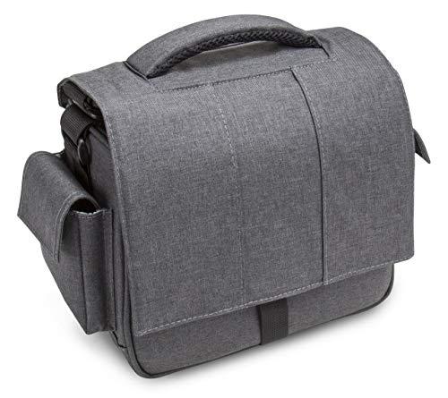 Bodyguard Mali Cámara réflex Digital Compatible con Nikon, Bolsa fotográfica Canon con Acceso rápido, Gris