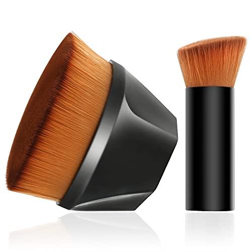Kabuki Makeup Brush,Foundation Brush for Liquid Makeup,Suitable for Mixed Liquid, Cream or Flawless Powder Cosmetics,Multifunctional Makeup Brush