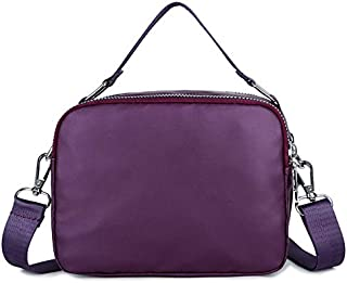 ZOZOE Women Casual Handbag Solid Simple Durable Large Capacity Waterproof Travel Shoulder Bags for Shopping Hiking Daily Use