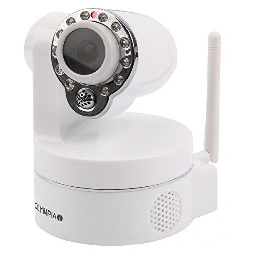 Olympia IC 720 P Cámara de Seguridad IP Interior Bala Escritorio/Pared 1280 x 720 Pixeles - Cámara de vigilancia (Cámara de Seguridad IP, Interior, Inalámbrico, 868 MHz, Bala, Escritorio/Pared)