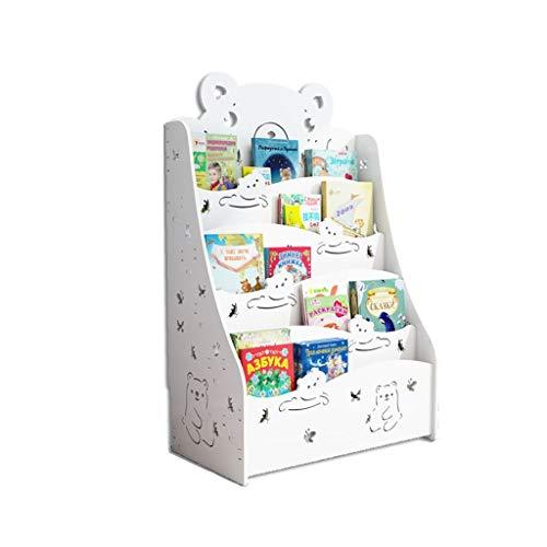 Muebles Estante para Libros Soporte De Exhibición para Niños Piso De La Biblioteca Estante De Almacenamiento para Niños Estante para Libros Estante De Almacenamiento De Revistas