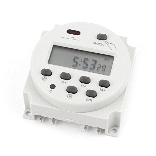 Woljay Zeitschaltuhr CN101A AC/DC 24V Digital LCD Programmierbarer Timer 16A Zeit Timer