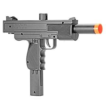 BBTac Airsoft Pistol UZI Style Spring Loaded Cock and Shoot Single Shot Airsoft Gun  800023