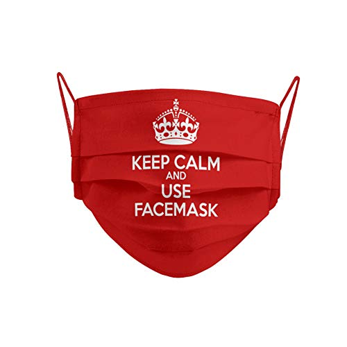 Cencibel Smart Casual Mascarilla Keep Calm and Carry On