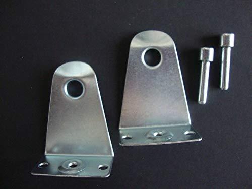 5,1cm Horizontal Rollo halten Sie mit Pins, Metall für Langlebigkeit. (8)