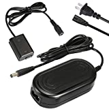 PowEver AC-PW20 Camera AC Adapter Charger Kit (NP-FW50 Battery Replacement) fit for Sony Alpha NEX-5 NEX-5A NEX-5C NEX-5CA NEX-5CD NEX-5H NEX-5K NEX-3 A6000 A6300 A6500 A3000 A5000 A7