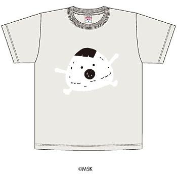 Tシャツ「あはれ!名作くん」18/オートミール Lサイズ(むすび)