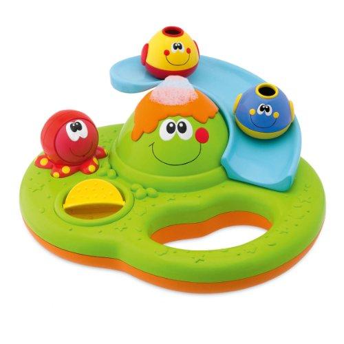 Chicco Bubble Island Gioco Playset Prima Infanzia, Gioco Bagno, Multicolore