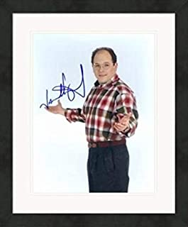 Jason Alexander autographed 8x10 Photo (Seinfeld, George Costanza) #SC11 Matted & Framed