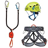 Climbing Technology Escoba Premium Galaxy Set ferrata, Multicolor, Talla unicaca