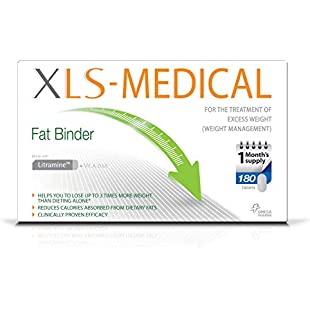XLS Medical Fat Binder Tablets Weight Loss Aid - 1 Month Supply Pack, 180 Tablets:Carsblog