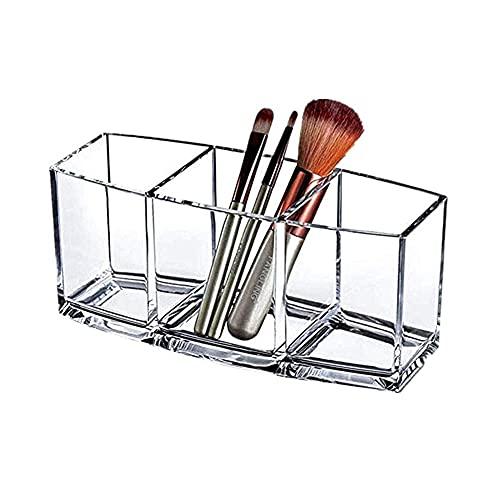 Estuche para lápices Resistente Almacenamiento de Maquillaje portaescobillas de Maquillaje Organizador de Dibujo de Maquillaje Porta lápices para Escritorio Organizador de Almacenamiento org
