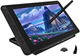 HUION 2020 Kamvas 13 Pen Display 2-in-1 Graphic Drawing Tablet with Screen Full-Laminated, Battery-Free Tilt Function 8192 Pen Pressure and 8 Shortcut Keys, Stand Included, Purple