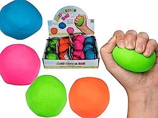 Couleur Squeeze Maille Boule Anti Stress Soulager Kids Enfant Slime Party Cadeau