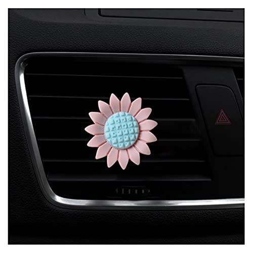 XU Tao Air Air Fishener Oll Styling Flower Air Vent Perfume PERFUM SABORTING para Auto Interior Accesorio ACENDIENTE DE Aire (Color Name : Pink)