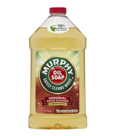Murphy Oil Soap Oil Soap Concentrated Original Wood Cleaner, 32-Ounce, (Value Pack of 2)