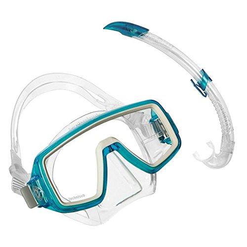 Aqua Lung Sport, Set di Maschera e boccaglio per Bambini Planet/Airflex, Turchese (Aqua)
